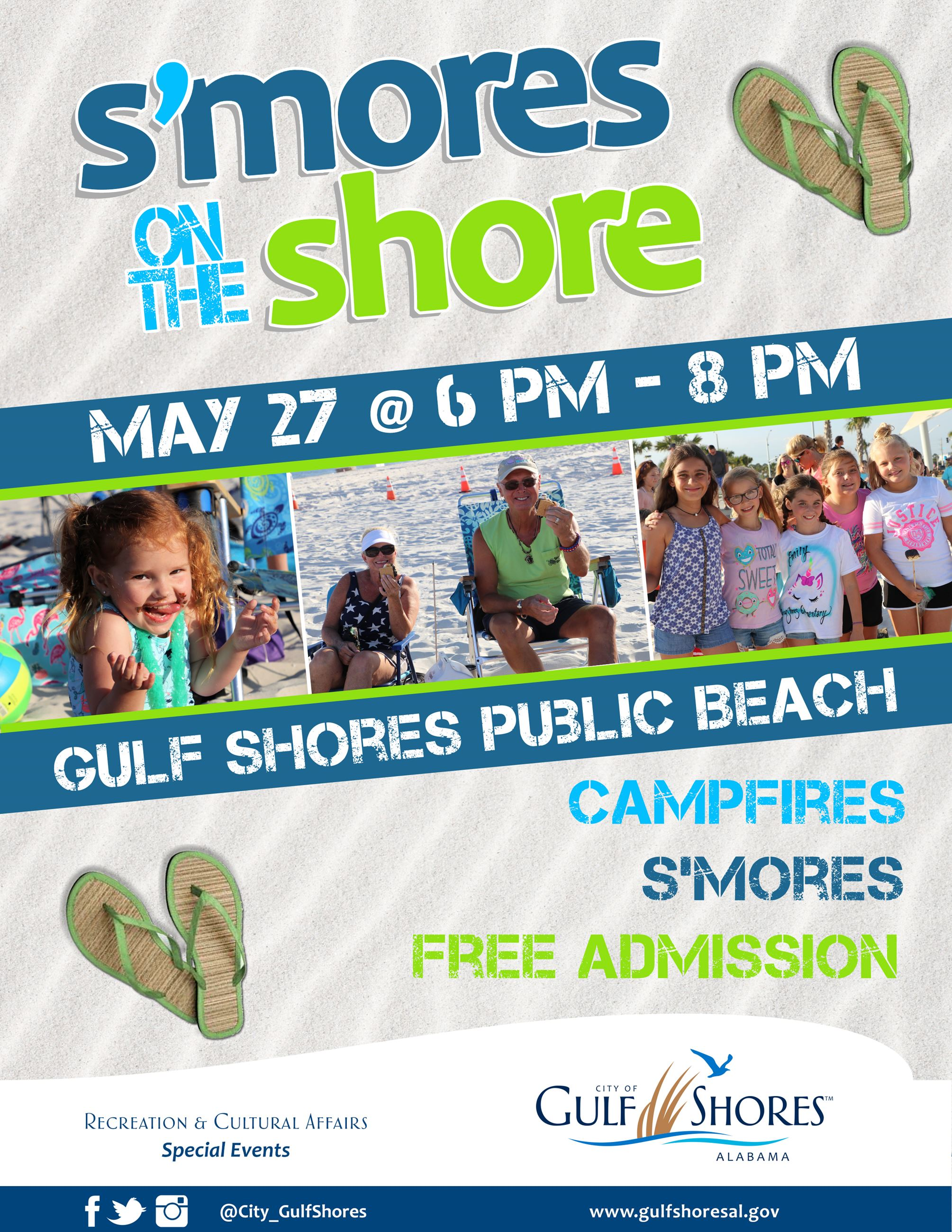 Smores on the Shore May 2021