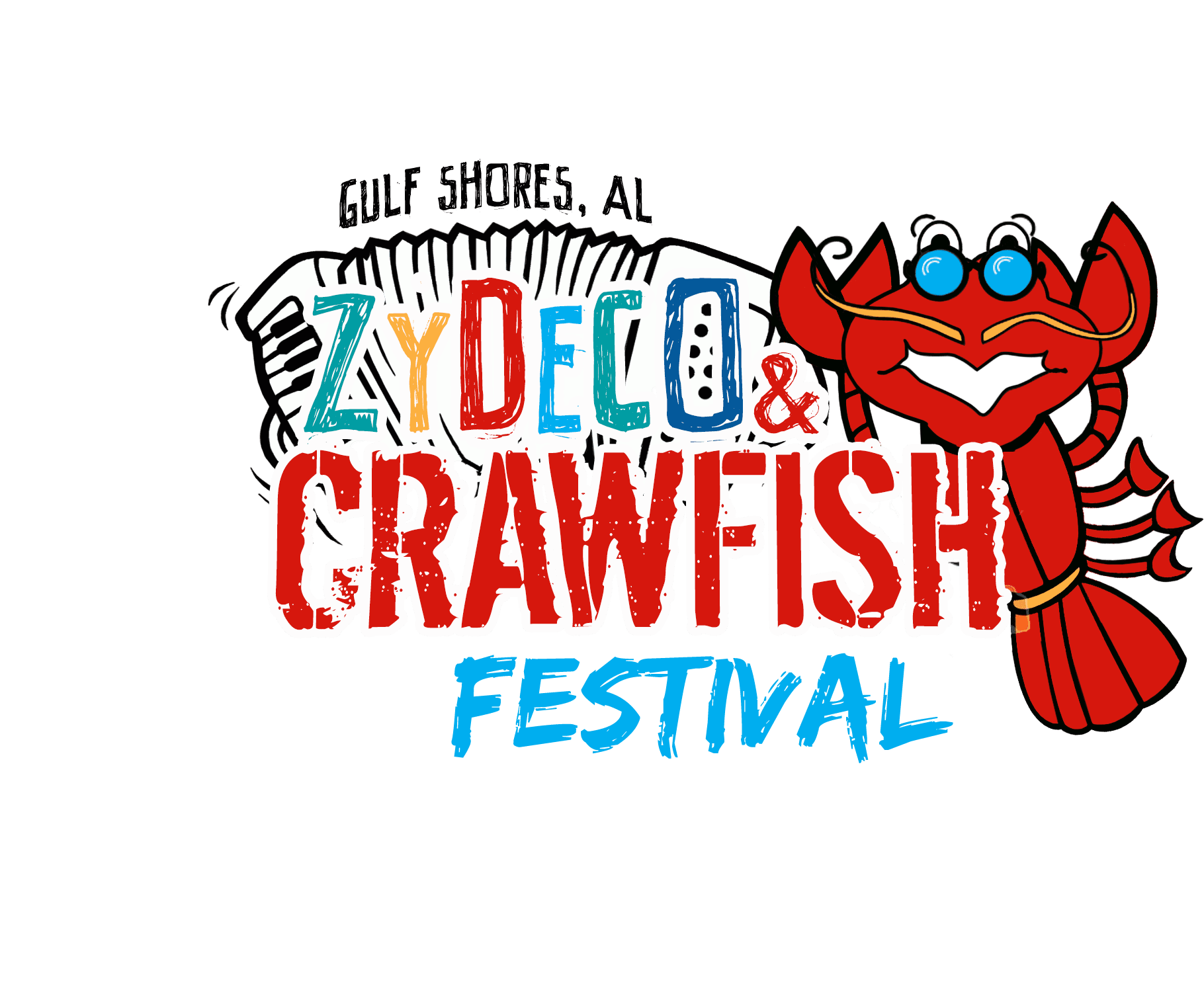 Zydeco Crawfish Festival without sponsor logos