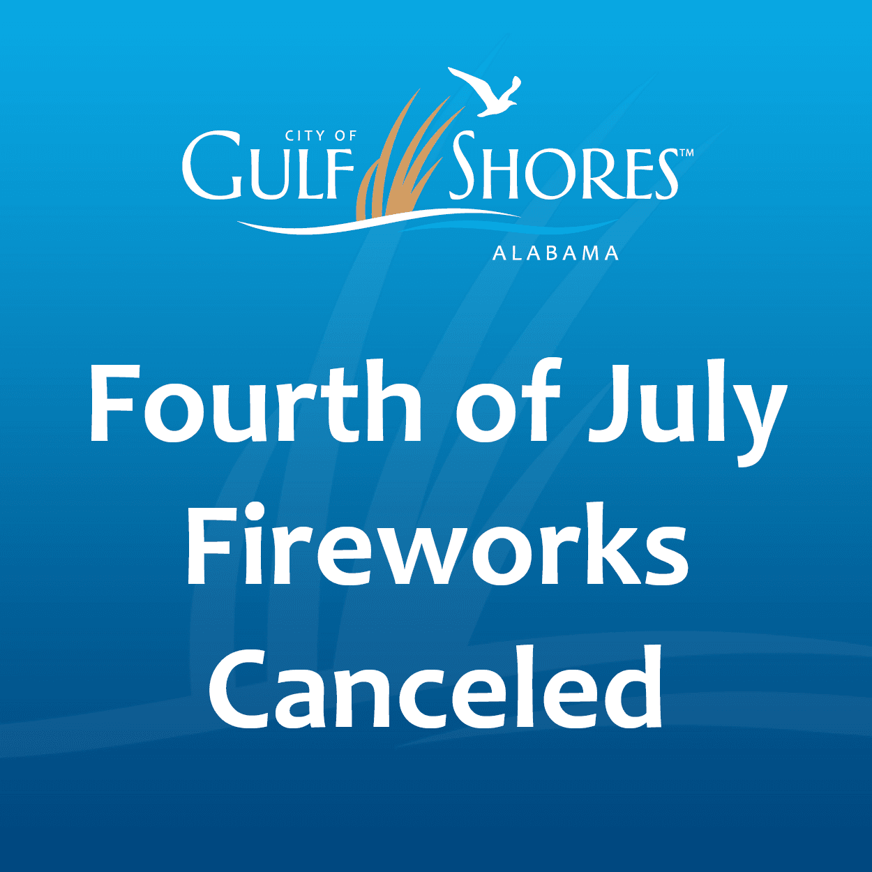 Fourth of July fireworks canceled